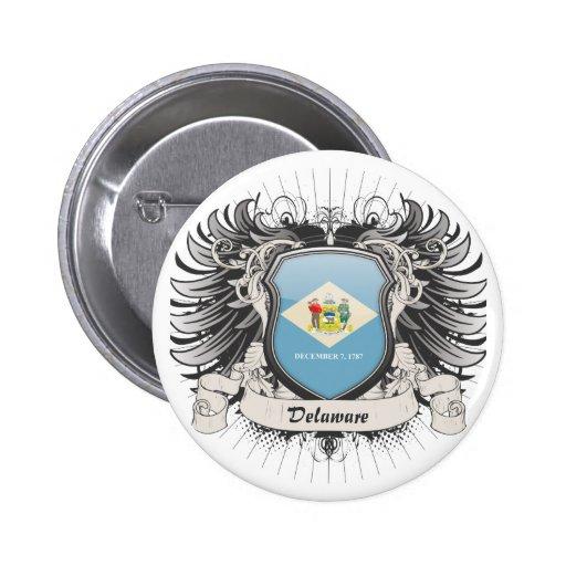 Escudo de Delaware Pin