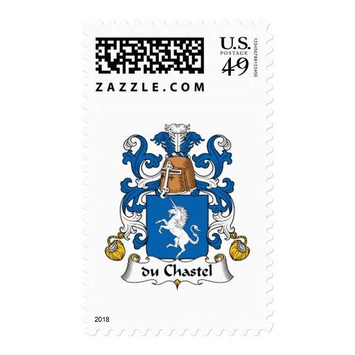 escudo de du Chastel Family Sellos
