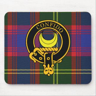Escudo de Durie y cojín de ratón escoceses del tar Tapetes De Ratón
