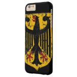 Escudo de Eagle del alemán Funda De iPhone 6 Plus Barely There