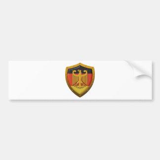 Escudo de Eagle del alemán Pegatina Para Auto