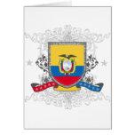 Escudo de Ecuador Felicitaciones