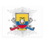 Escudo de Ecuador Postales