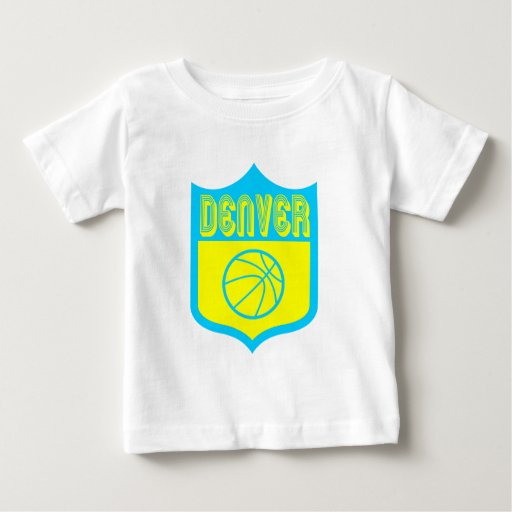 Escudo de encargo Design1 de Denver Playera De Bebé