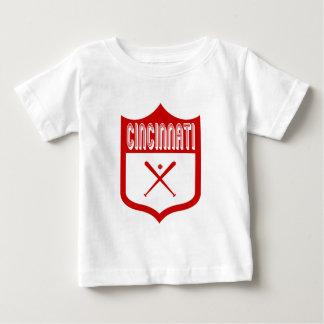 Escudo de encargo Design2 de Cincinnati Camisetas
