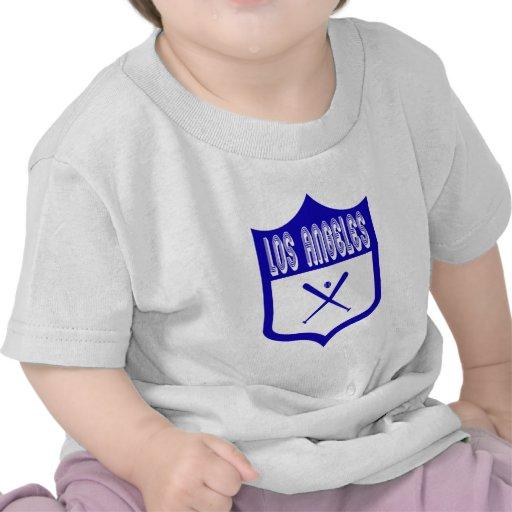 Escudo de encargo Design2 de Los Ángeles Camiseta