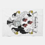 Escudo de enlatado de la familia toalla de cocina