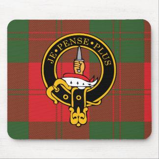 Escudo de Erskine y cojín de ratón escoceses del t