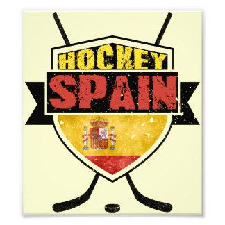 Escudo de España del hockey sobre hielo Cojinete