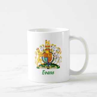 Escudo de Evans de Gran Bretaña Taza Clásica