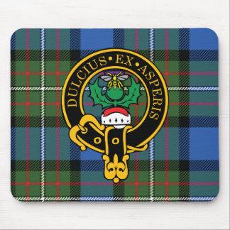 Escudo de Fergusson y cojín de ratón escoceses del Alfombrillas De Raton
