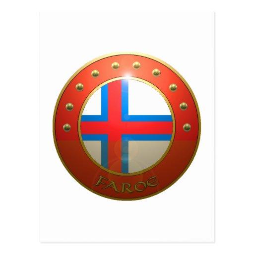 Escudo de Feroe Postal