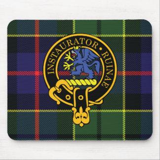 Escudo de Forsyth y cojín de ratón escoceses del t