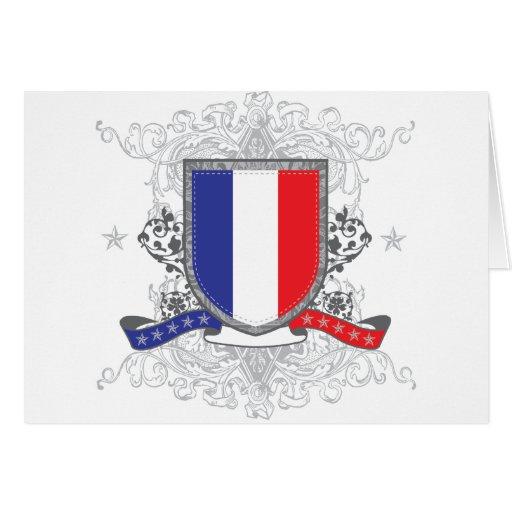 Escudo de Francia Felicitaciones