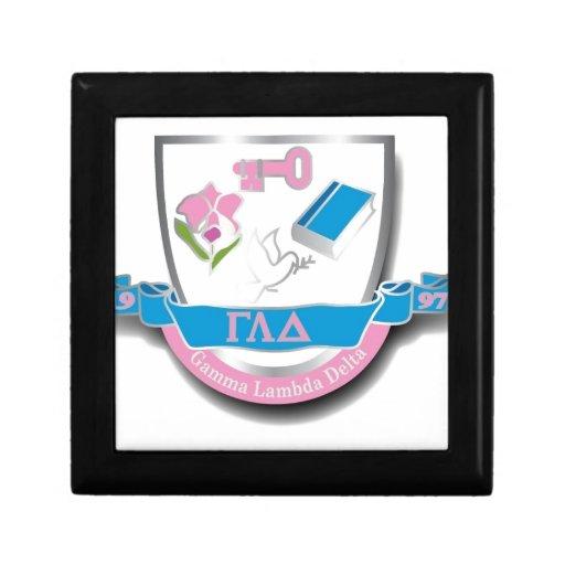 Escudo de GLD Caja De Regalo