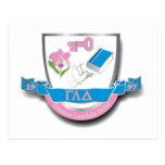 Escudo de GLD Tarjetas Postales