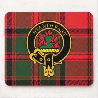 Escudo de Grant y cojín de ratón escoceses del tar