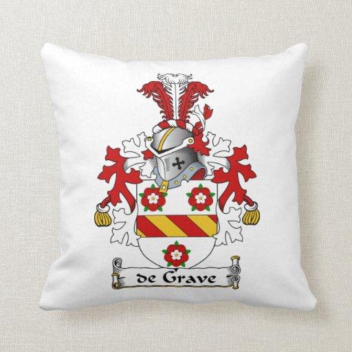 escudo de Grave Family Cojines
