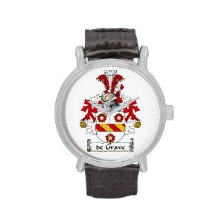 escudo de Grave Family Relojes De Mano