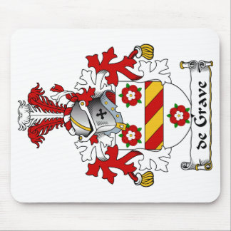 escudo de Grave Family Tapete De Ratón