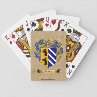 Escudo de Griego de brazos Baraja De Póquer