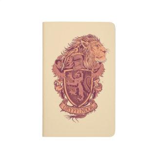 Escudo de GRYFFINDOR™ Cuaderno Grapado