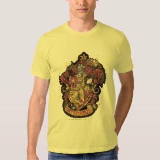 Escudo de Gryffindor - destruido Remera