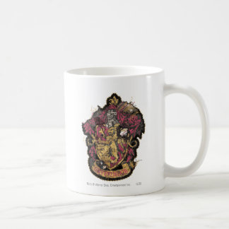 Escudo de Gryffindor - destruido Tazas De Café