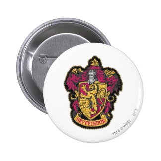 Escudo de Gryffindor Pin Redondo De 2 Pulgadas