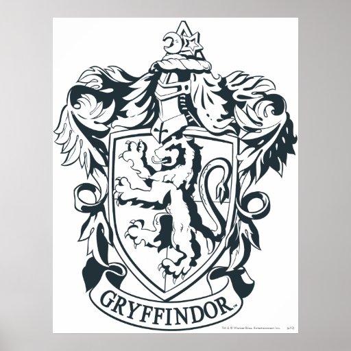 Escudo de Gryffindor Póster
