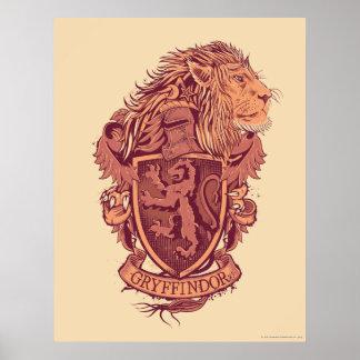Escudo de GRYFFINDOR™ Póster