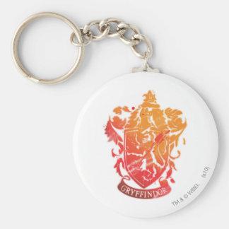Escudo de Gryffindor - salpicado Llavero