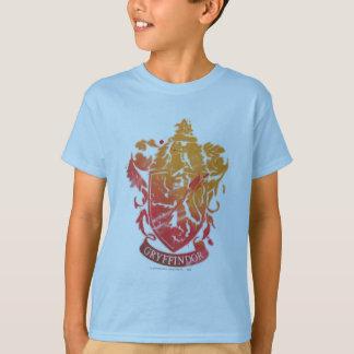 Escudo de Gryffindor - salpicado Poleras