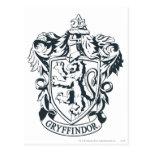 Escudo de Gryffindor Tarjetas Postales