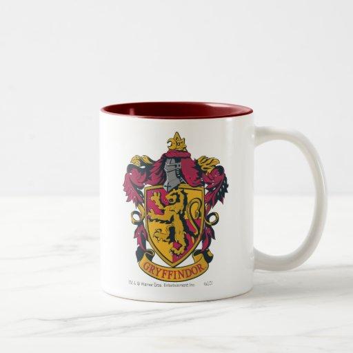 Escudo de Gryffindor Tazas De Café