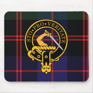 Escudo de Guthrie y cojín de ratón escoceses del t