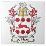 escudo de Haas Family Azulejo Cerámica