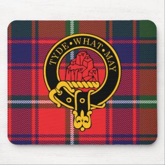 Escudo de Haig y cojín de ratón escoceses del tart