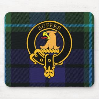 Escudo de Haldane y cojín de ratón escoceses del t