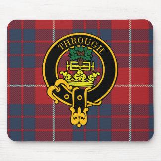 Escudo de Hamilton y cojín de ratón escoceses del  Alfombrilla De Ratones