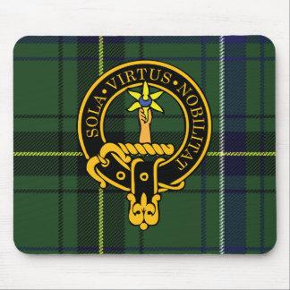 Escudo de Henderson y cojín de ratón escoceses del Tapete De Raton
