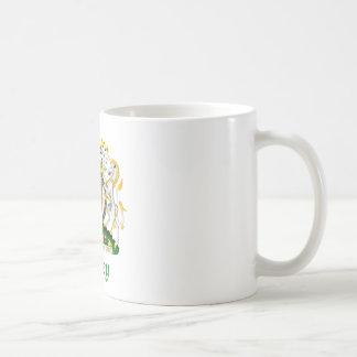 Escudo de Hickey de Gran Bretaña Tazas De Café