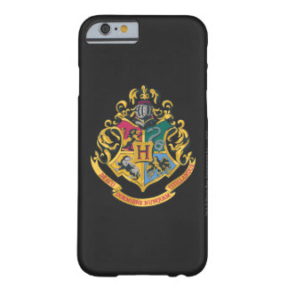 Escudo de Hogwarts a todo color Funda Barely There iPhone 6