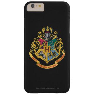Escudo de Hogwarts a todo color Funda Barely There iPhone 6 Plus