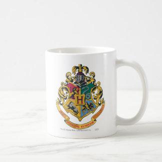 Escudo de Hogwarts a todo color Taza De Café