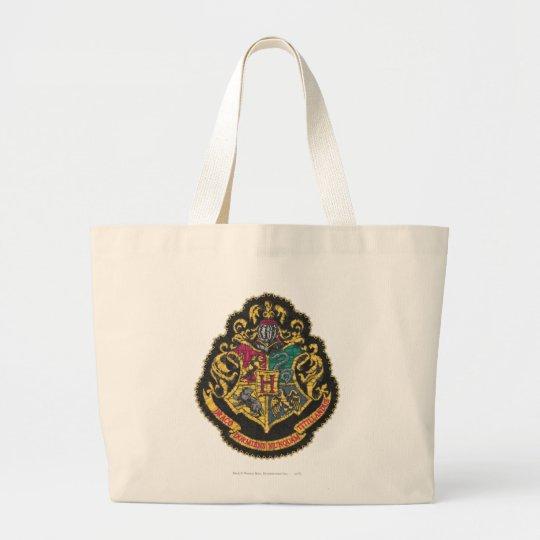 Escudo de Hogwarts Bolsa De Tela Grande