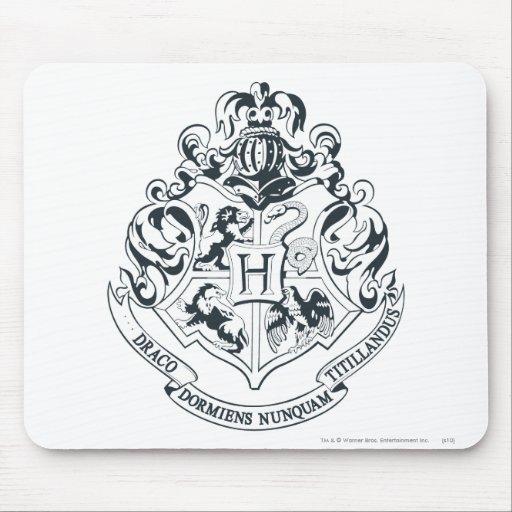 Escudo de Hogwarts Tapetes De Raton