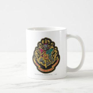 Escudo de Hogwarts Taza Básica Blanca