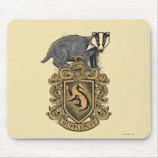 Escudo de HUFFLEPUFF™ Alfombrillas De Raton