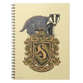 Escudo de HUFFLEPUFF™ Cuaderno